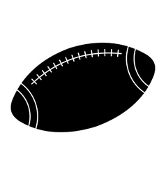 American Football simple icon vector image