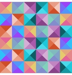 Bright seamless mosaic pattern vector image