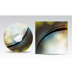 CD cover 2march vector image