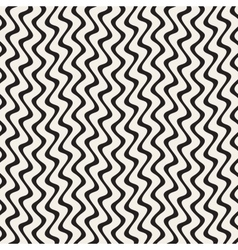 Hand Drawn Vertical ZigZag Lines Abstract vector