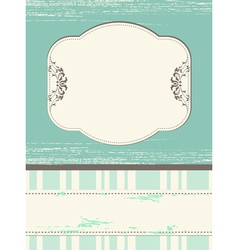 Scrap template design with blank space vector image