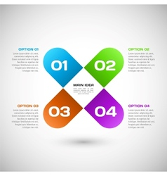 your infographic template vector image