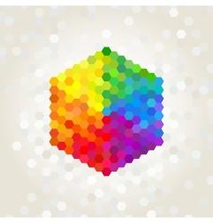 geometric figure vector image