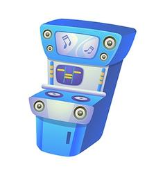 icon game machine vector image
