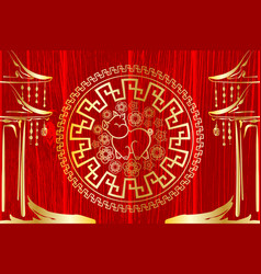 2019 china new year vector