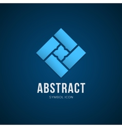 Abstract Concept Symbol Icon or Logo Template vector image