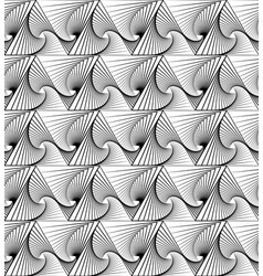 Abstract repeatable monochrome pattern with vector