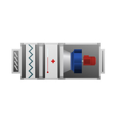 air handler device for comfort vector image