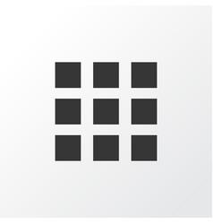 apps icon symbol premium quality isolated vector image