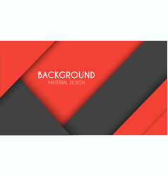 Background in the style of the material design vector image