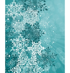 Blue winter abstract Christmas Background vector