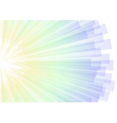 Cool abstract aura stripe corner explode vector