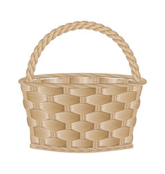 Eempty basket vector