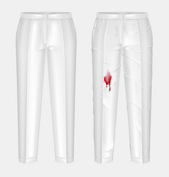 pants stain remover experiment concept vector image