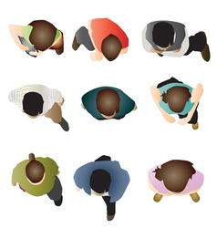people set 5 vector image