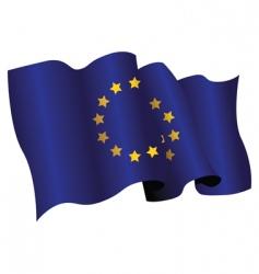 European flag vector image