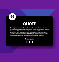 material design style background and quote vector image