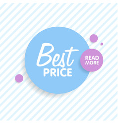 round colorful shapes abstract banners material vector image vector image
