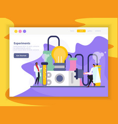 science lab page vector image