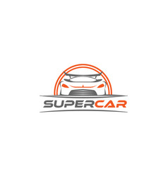 super cars logo design template inspiration vector image