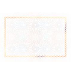 Winner luxury certificate horizontal template vector