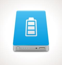 Portable Power Bank vector image vector image