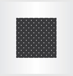 abstract black pattern geometric background vector image vector image
