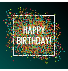 celebration birtday vector image vector image