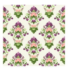 Seamless wrapping paper pattern vector image vector image