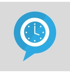 sign clock time watch design graphic vector image