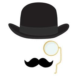 Gentleman concept vector image