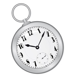 old clock on the ring vector illustration vector image vector image