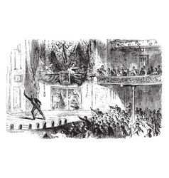 Lincoln assassination at fords theatre by john vector
