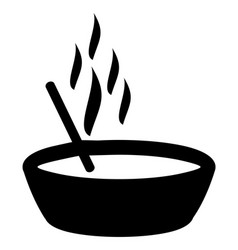 noodles sign vector image