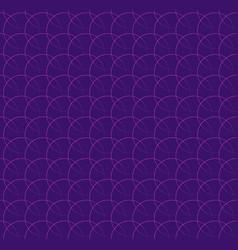 repeatable pattern w interlocking circles rings vector image