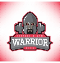Fitness and GYM club logo vector image vector image