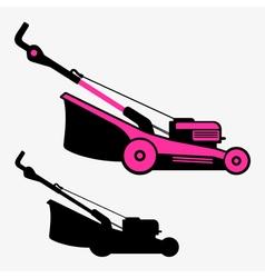 Lawn mower vector image vector image