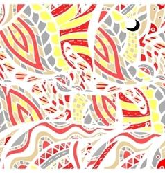 ornamental background vector image