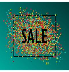 celebration sale1 vector image vector image