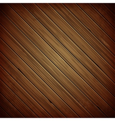 Wooden plank dark background vector image vector image