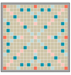 Board game erudition board biggest scrabble vector