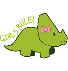 Girls rule vector