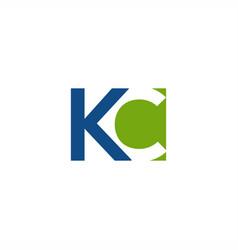 kc logo simple vector image