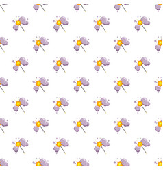 Magic wand pattern vector