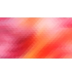 Red background with triangles shapes vector