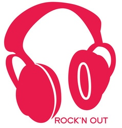 Rock n Out vector image