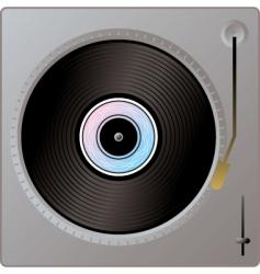 record player vector image vector image
