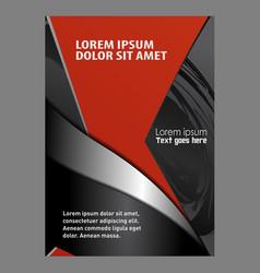 Modern Flyer Design vector image vector image