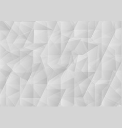white triangle abstract background graphic design vector image vector image