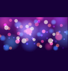 blurry glitter background vector image